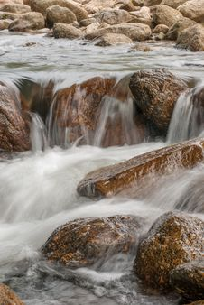 Free Landscape With A Mountain River Royalty Free Stock Photos - 36547798