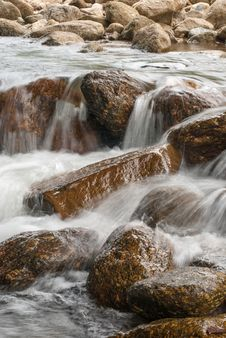 Free Landscape With A Mountain River Stock Images - 36547814