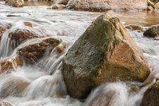 Free Landscape With A Mountain River Royalty Free Stock Photo - 36547835