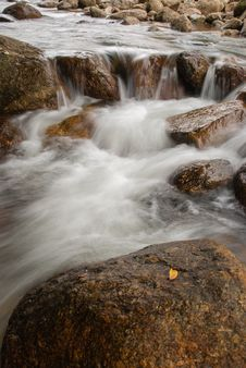 Free Landscape With A Mountain River Royalty Free Stock Photos - 36547848