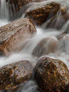 Free Landscape With A Mountain River Royalty Free Stock Photography - 36547867