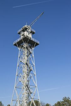 Skydiving Tower Royalty Free Stock Photo