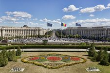 Free Palace Of The Parliament, Bucharest Stock Images - 36550024