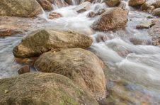 Free Landscape With A Mountain River Royalty Free Stock Images - 36552209
