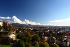 Free Bergamo In Autumn Stock Photography - 36552392