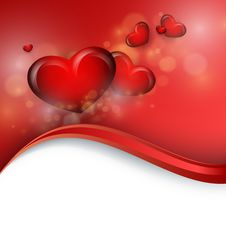 Free Valentine S Day Vector Background Stock Photo - 36555310