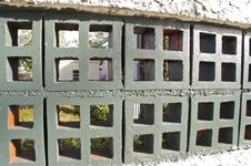 Free Block Fence Stock Image - 36559331