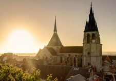 Free Saint-Nicolas Church In Abbaye Saint-Laumer, France Royalty Free Stock Photo - 36559535