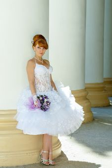 Free Redhead Charming Bride Stock Image - 36560081