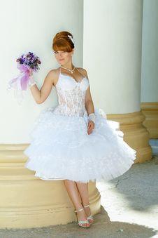 Free Redhead Charming Bride Stock Photos - 36560113