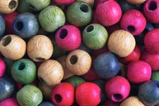 Free Wooden Balls Royalty Free Stock Images - 36561839