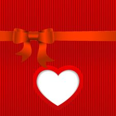Free Vector Valentines Day Card. Royalty Free Stock Images - 36564049