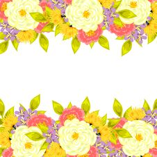 Free Fresh Flower Background Stock Images - 36568214
