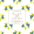 Free Wedding Card Royalty Free Stock Photo - 36573155