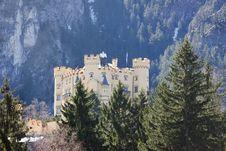 Free Hohenschwangau Castle Royalty Free Stock Image - 36573596