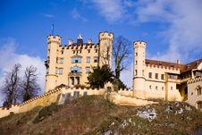 Free Hohenschwangau Castle Royalty Free Stock Image - 36573946