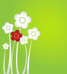 Free Paper Flowers Royalty Free Stock Photography - 36574727