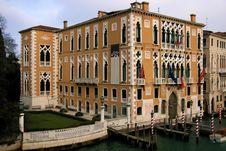 Cavalli Franchetti Palace Stock Photo