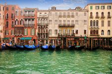 Free Buildings In The Grand Canal Stock Photos - 36576373