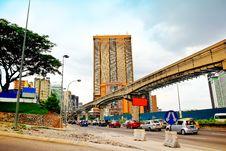 Free Cityscape In Kuala Lumpur Malaysia Stock Image - 36577581