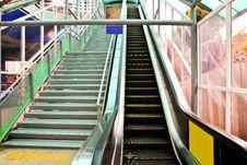 Free Electric Escalator Royalty Free Stock Image - 36577786