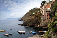 Free Riomaggiore Village Royalty Free Stock Photos - 36579848