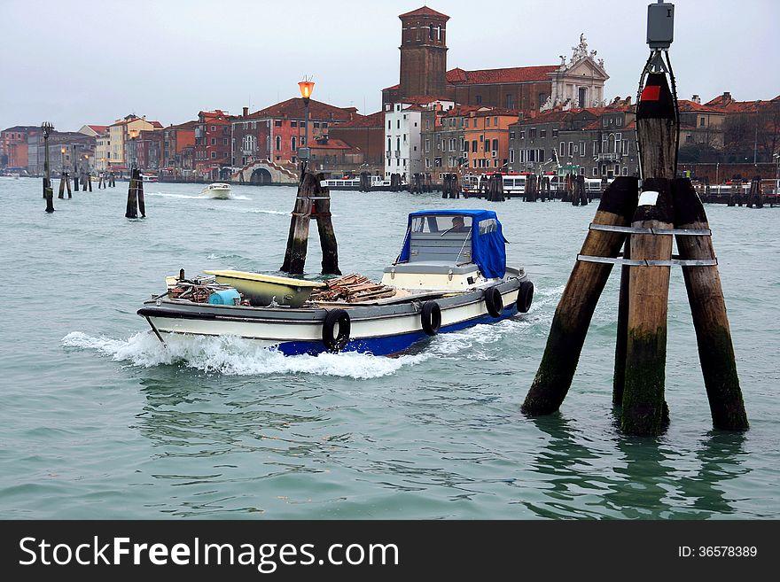 Laguna nord of Venice