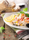Free Rice, Vegetables And Bread Royalty Free Stock Photos - 36584928