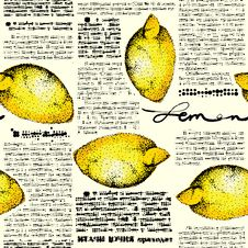 Free Paper Lemons Stock Images - 36580624