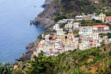 Free Riomaggiore Coast Royalty Free Stock Photography - 36580737
