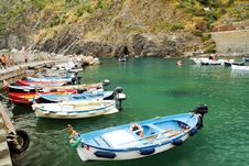 Free Vernazza Marina Royalty Free Stock Images - 36581509