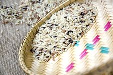 Free Close Up Raw Brown Rice Stock Image - 36581571