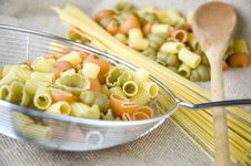 Free Close Up Raw Pasta Stock Photography - 36581582
