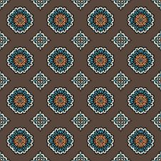 Free Wallpapaer Tiles Seamless Pattern Vector Stock Photos - 36581733