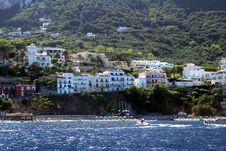 Free Capri Island Hotels Stock Photo - 36582790