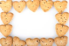 Free Heart Shaped Biscuits Stock Image - 36585811