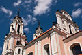 Free St. Catherine Church In Vilnius, Lithuania Royalty Free Stock Photo - 36594205