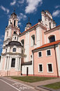 Free St. Catherine Church In Vilnius, Lithuania Royalty Free Stock Photo - 36594225