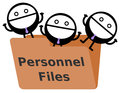 Free Personnel Files Royalty Free Stock Photography - 36597697