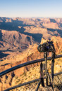 Free Grand Canyon - Professional Photocamera Set Up For Sunset Royalty Free Stock Photography - 36598187