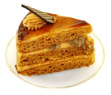 Free Delicious Piece Of Cake Royalty Free Stock Images - 36590729