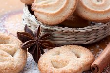 Free Sugar Cookies Royalty Free Stock Photo - 36591345