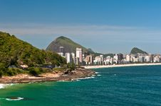 Free Rio De Janeiro Skyline Royalty Free Stock Photos - 36593238