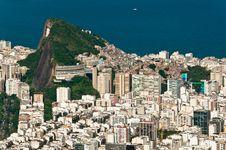Free Aerial View Of Rio De Janeiro Royalty Free Stock Photos - 36593328