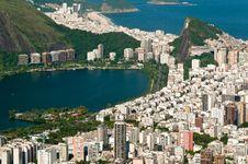 Free Aerial View Of Rio De Janeiro Stock Images - 36593384