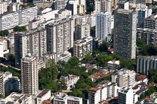 Free Residential Buildings In Rio De Janeiro Stock Photography - 36594442