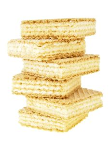 Free Wafer On Stack Royalty Free Stock Photography - 36596797