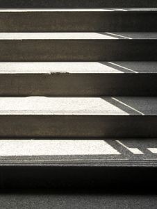 Free Staircase In Light Stock Images - 36597064