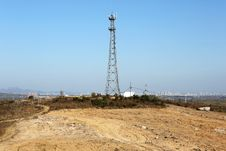Free Network Signal Tower Stock Image - 36599541