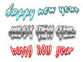 Free New Year Banners Royalty Free Stock Photos - 3663158